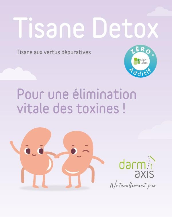 Tisane Detox aux vertus dépuratives. Pour une élimination vitale des toxines